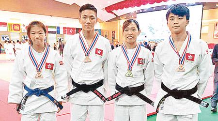 港柔道隊泰國錦標賽有佳績 - 東方日報