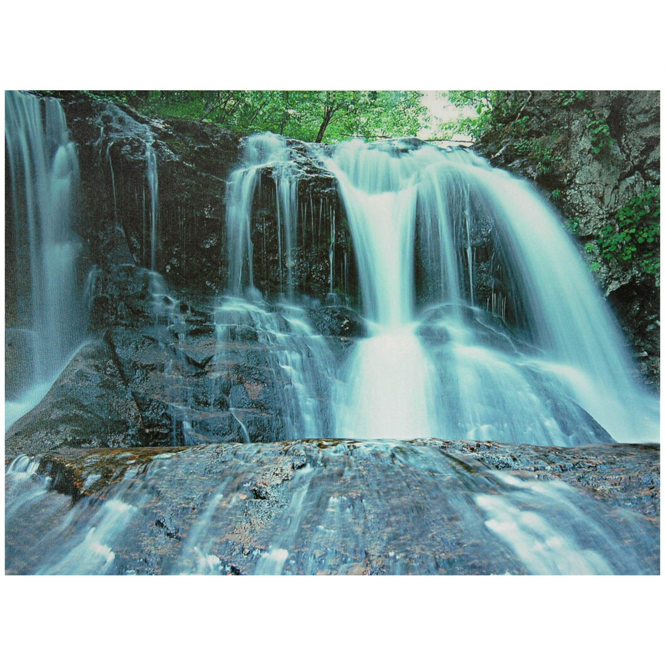 Waterfall Canvas Wall Art  Orientalfurniturem