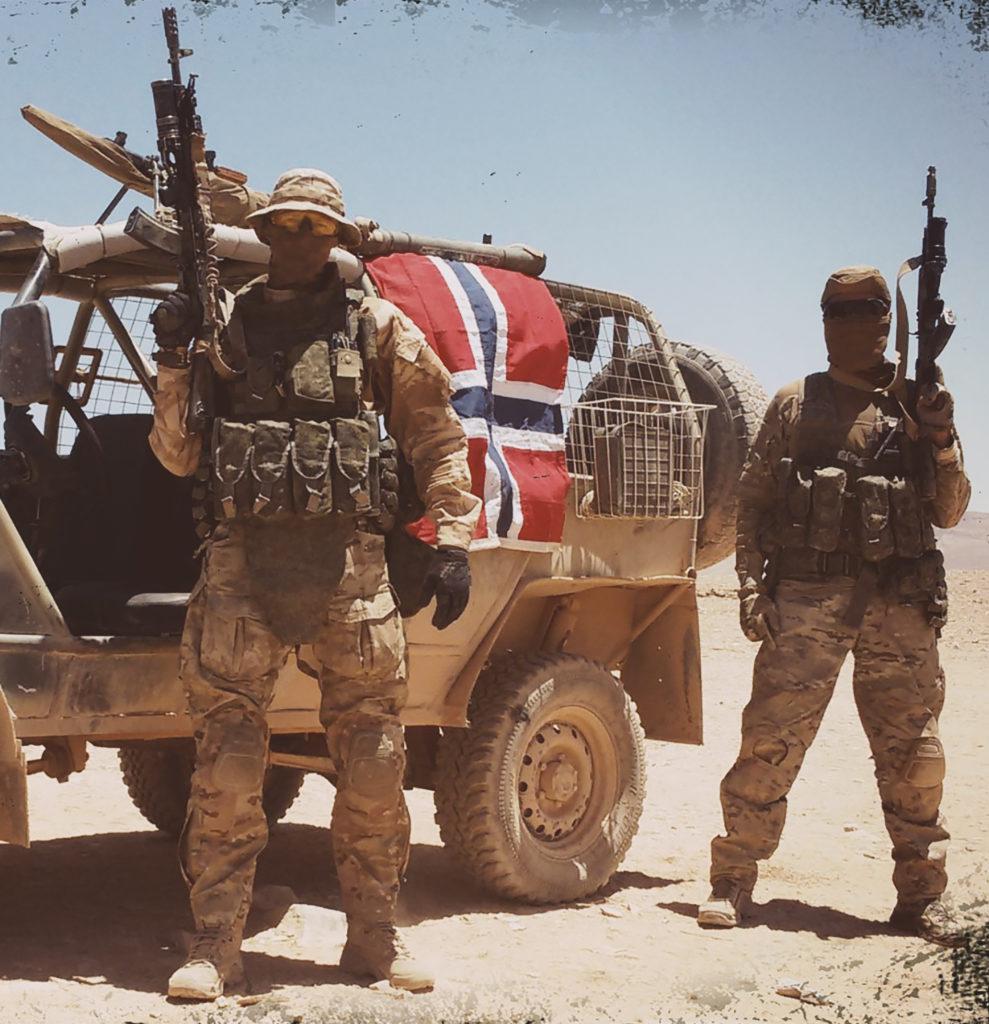 Skandináv önkéntesek a Szíriai Arab Hadsereg oldalán