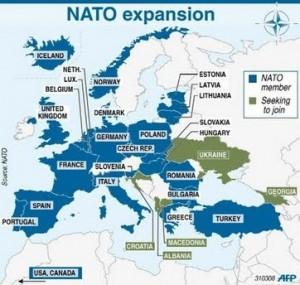 NATO creeping forward, suffering failures in Ukraine, Belarus, and Georgia.