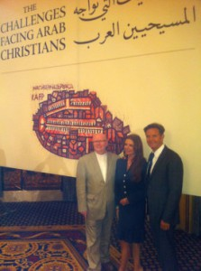 World Evangelical Alliance representatives at the conference on Arab Christians in Amman, September 3, 2013. Photo courtesy Dr. Geoff Tunnicliffe