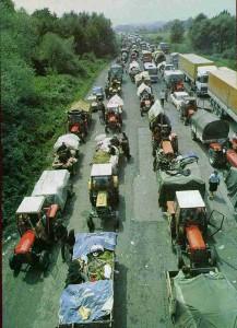 Serbian civilians' exodus from Croatia, August 1995
