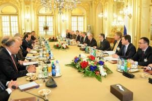 Egypt Russia talk.