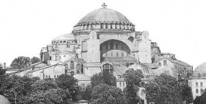 Hagia Sophia Cathedral in Constantinople was built in 537 AD