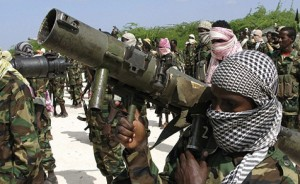 Members of Somalia's hardline Islamist rebel group al Shabaab. Photo: The Daily Nation