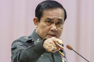 Thailand's Prime Minister Prayuth Chan-ocha