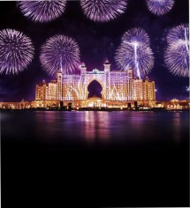 Hotel Atlantis Dubai Fireworks