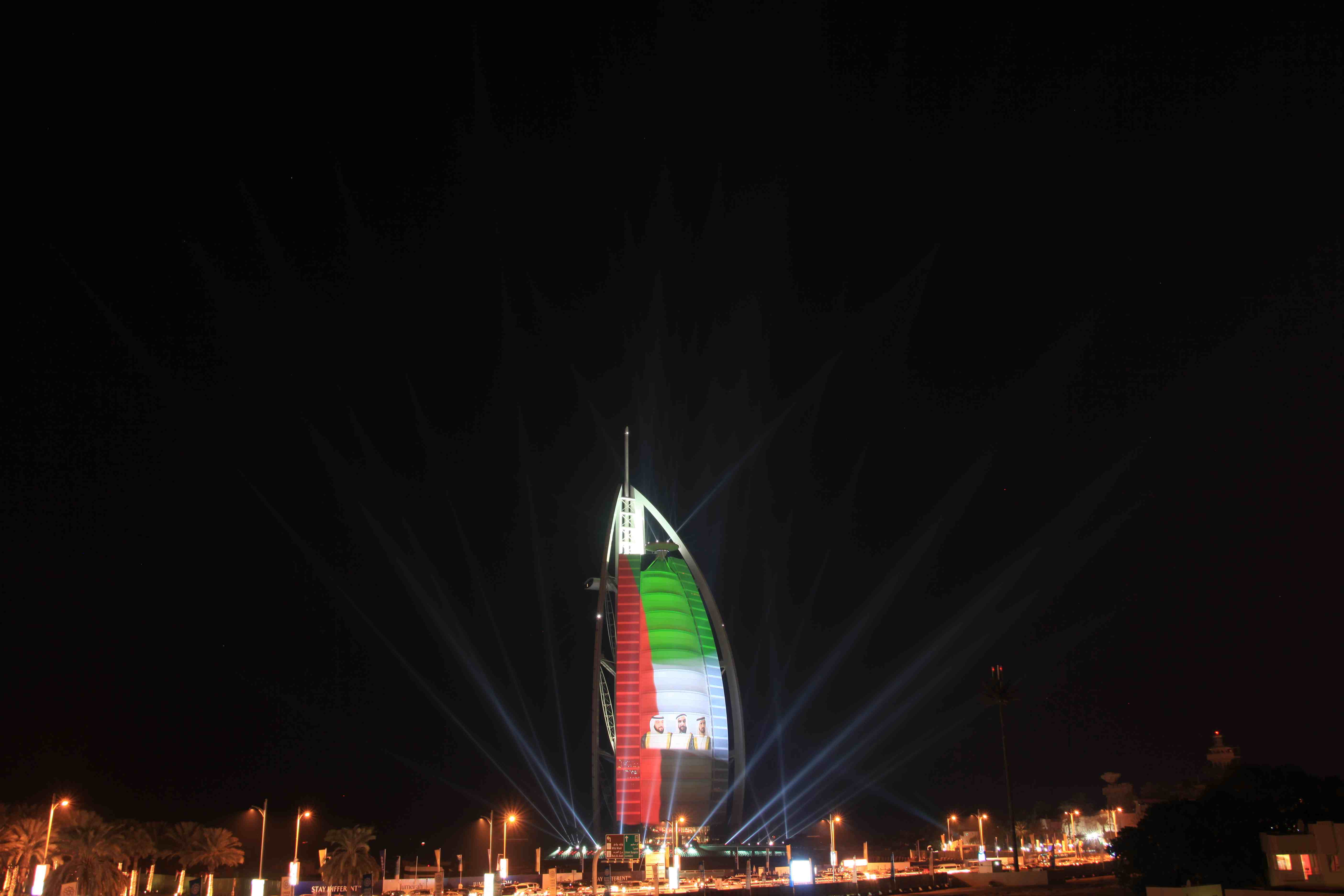 Indian Flag Animation Wallpaper Burj Al Arab Parties In Spectacular Style Celebrations