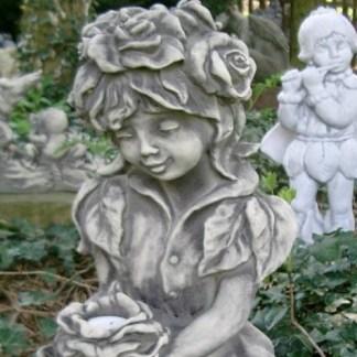 Elfe Rosenmädchen gross