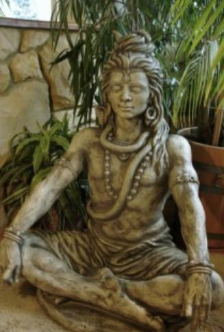 Gott Shiva sitzend2