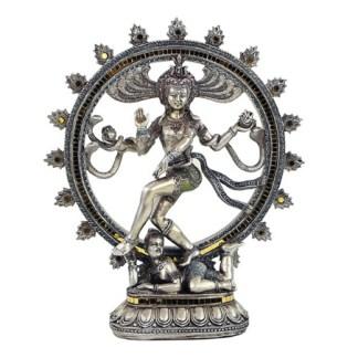 Shiva Nataraj Herr des Tanzes 34cm