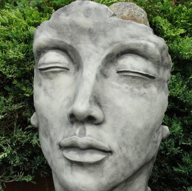 Gesicht Frau klein