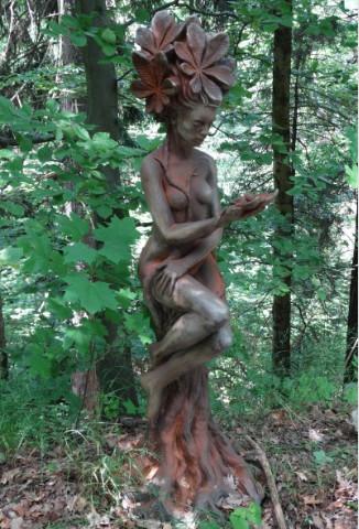 Elfe Baumhüterin Kastanie Rost2