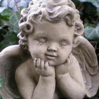Engel Angelo - Engel Angelo, Engel beide Arme aufgestützt