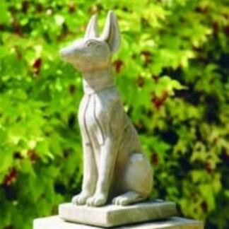 Hund Pharao Hundeskulptur - Hund Pharao Hundeskulptur