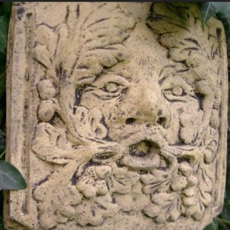 Relief Greenman Blower - Relief Greenman Small Oak
