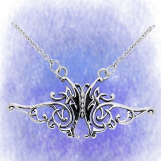 Collier Flying Butterfly aus 925-Silber