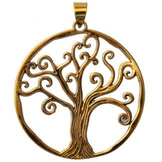 Anhänger Lebensbaum Bronze 45mm