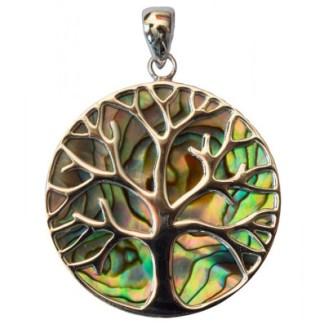 Anhänger Paua Lebensbaum 35mm