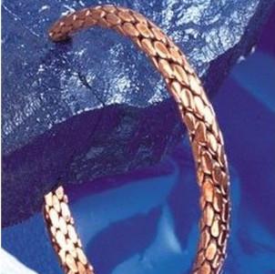 Armreif geflochtet - Esoterik Kupferarmreifen