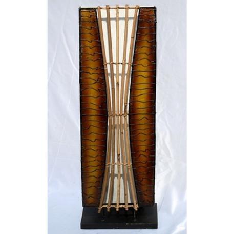 Lampen Und Leuchten Stehlampe Lampe Braun Mit Bambus