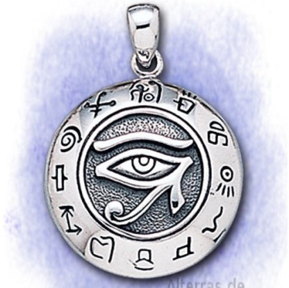 Anhänger Auge des Horus aus 925-Silber