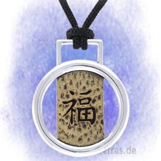 Anhänger Good Luck aus 925-Silber
