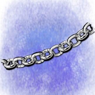 Kette Erbskette – oval – 6,9mm aus 925-Silber