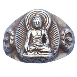 Ring Buddha 925 Silber