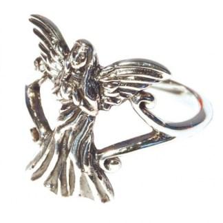 Ring Engel mit Herz 925 Silber