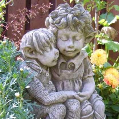 Elfenpaar Dandelion und Burdock © BY FIONA SCOTT