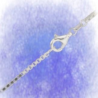 Kette Venezianerkette – diamantiert - 1,4mm aus 925-Silber