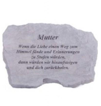 Gedenkstein Mutter wenn die Liebe2