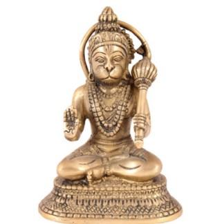 Hanuman sitzend 19cm
