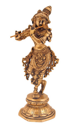 Krishna stehend fein 23cm2