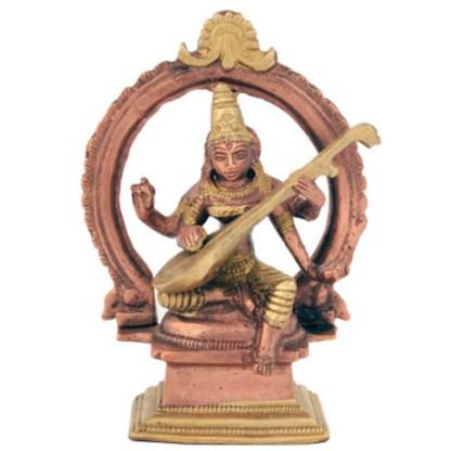Saraswati sitzend 11cm