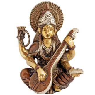 Saraswati sitzend 15cm