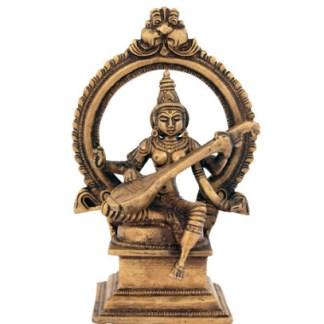 Saraswati sitzend 17cm