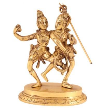 Shiva-Parvati stehend 18cm