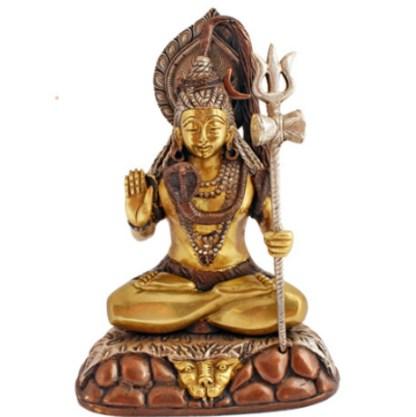 Shiva sitzend 27cm