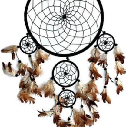 Traumfänger Indianer 26x60cm