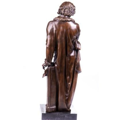 "Bronze Figur Beethoven stehend 71cm4 - Bronze Figur ""Beethoven - stehend"" 71cm"
