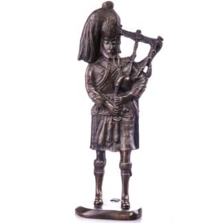 "Bronze Figur Schotte mit Dudelsack 33cm - Bronze Figur ""Schotte - mit Dudelsack"" 20cm"