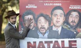 Italian actor/cast member Francesco Mandelli poses for photographs during the photo call for the movie 'Natale col Boss', in Rome, Italy, 15 December 2015. The movie will be released in Italian theaters on 16 December. ANSA/CLAUDIO ONORATI