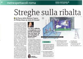 Metro Roma Venerdì 04 12 2009