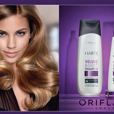 HairX Volume Boost για όγκο στα λεπτά μαλλιά