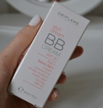 Oriflame BB Cream Review packaging