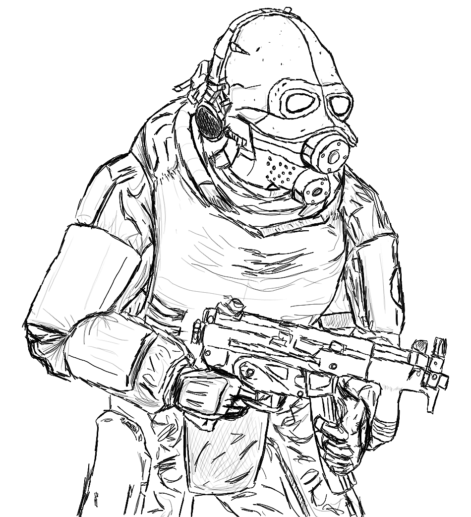 Combine Soldier by elysium-rage on DeviantArt