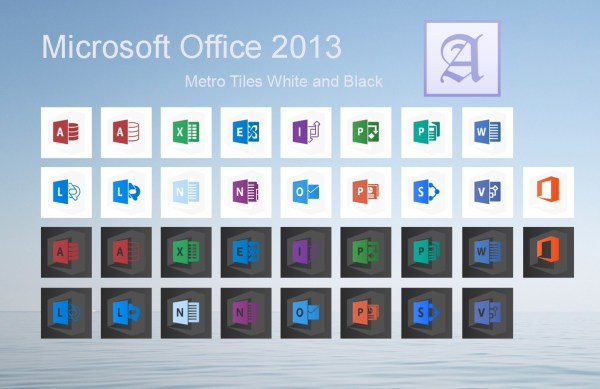 Office 2013 Black and White by dtafalonso on DeviantArt