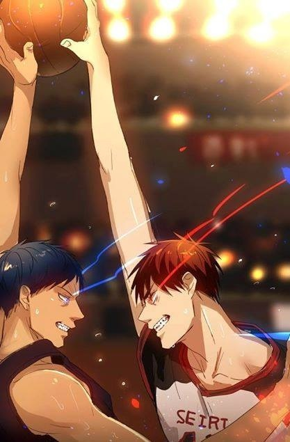 Wallpaper Hd 2014 Girl Stuck Between Two Lights Kagami X Reader X Aomine By